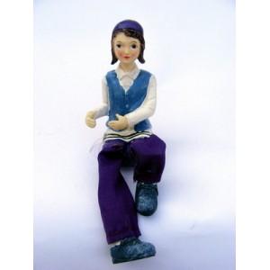 "Figurine"" Garçon religieux en talith"""