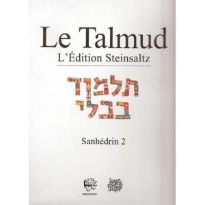 """Talmud Steinsaltz """"Sanhedrin 2"""""""