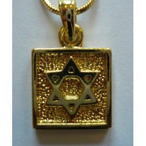 Magen David en métal doré